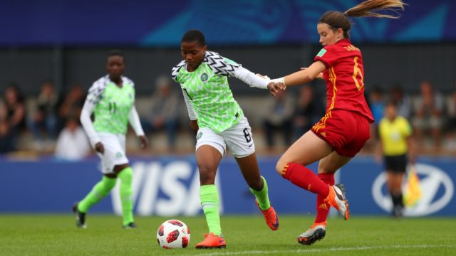 Falconets lose to Spain, out of World Cup