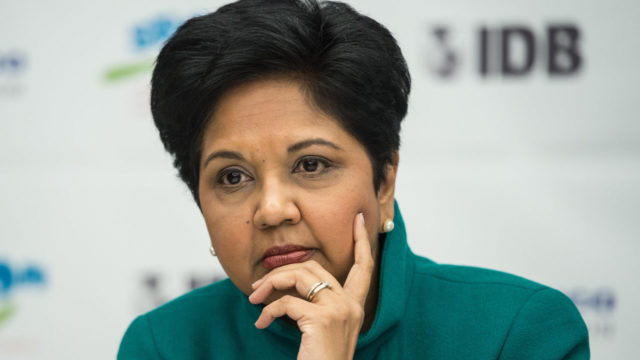 Pepsico: Indra Nooyi stepping down as CEO