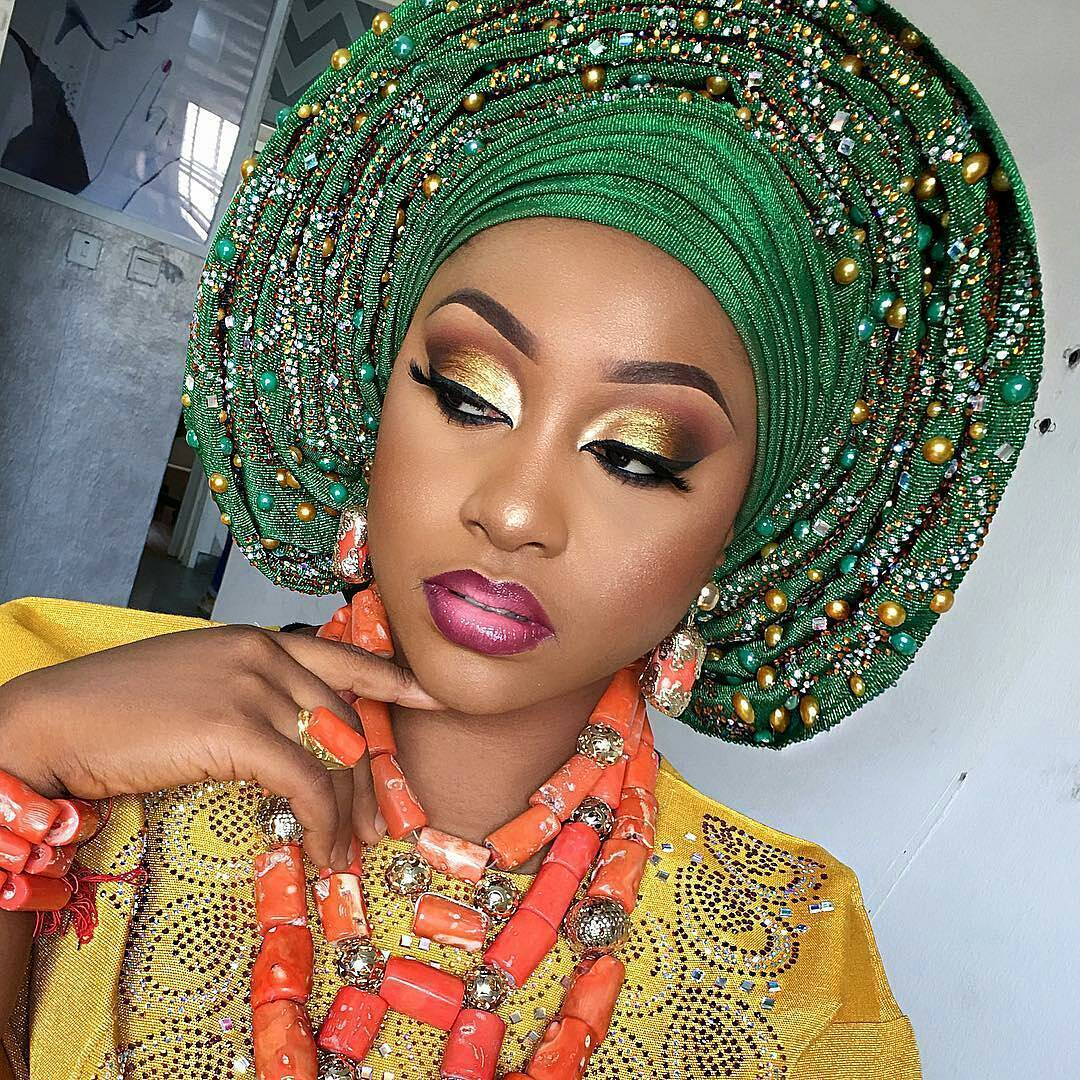 Wedding Hairstyles In Nigeria: Learn How To Style The Nigerian Gele