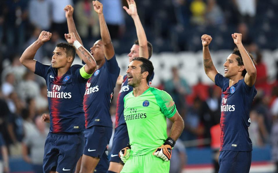 SPORT: Still warming up, PSG prepare to face Guingamp