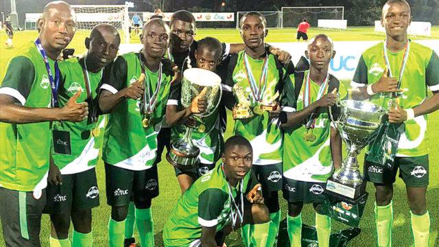 Nigeria beats Liberia 4-0 to win 2018 SATUC World Cup