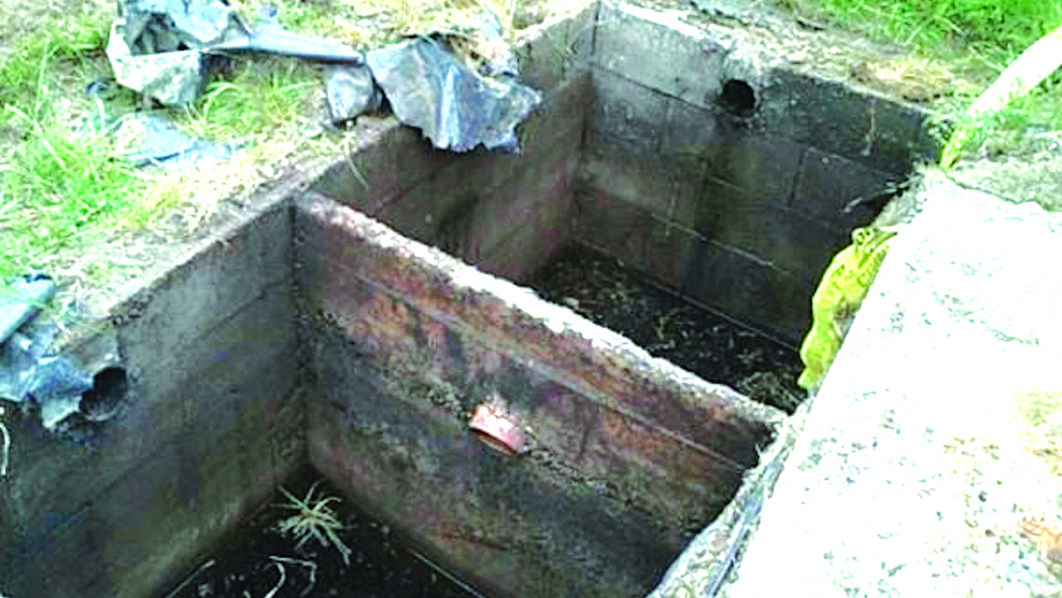 NEWS:Two kids found dead inside septic tank in Kwara