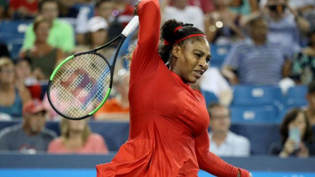 Serena thinking of slain sister shortly before lopsided loss