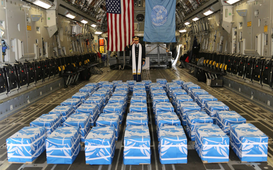 North Korea only provided one dog tag with possible United States  remains