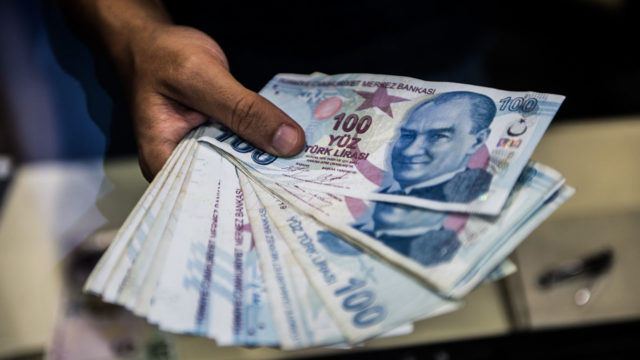 Turkish lira, equities enjoy bounce in Asia