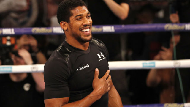 Joshua ready for Wilder but promoter wants no more Deontay delay
