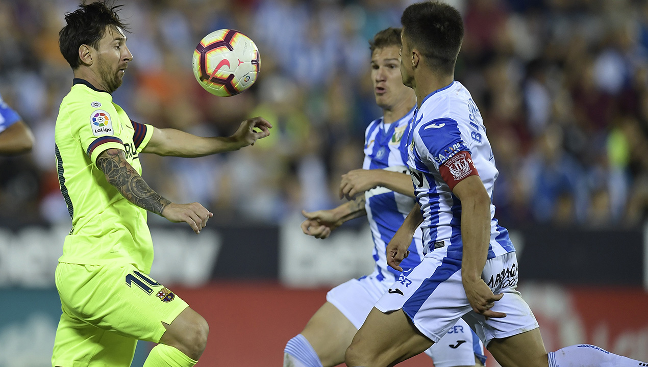 Bottom-placed Leganes stun Barcelona in La Liga