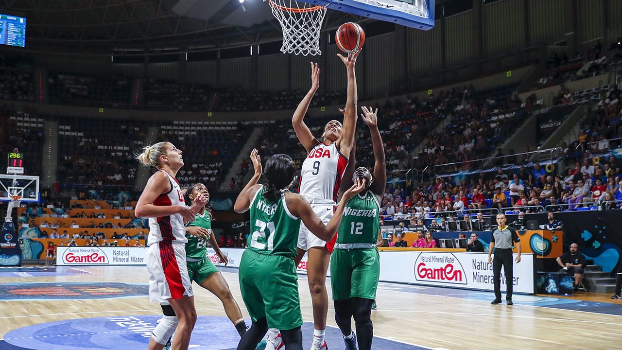 United States of America women's basketball team continues world dominance