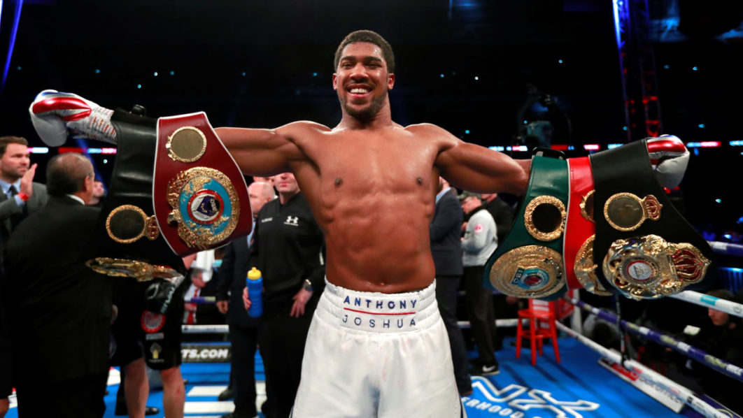 Anthony Joshua Brutally KO's Alexander Povetkin In Round 7