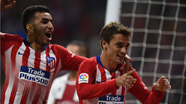 Griezmann on target as Atletico cruise to victory over Huesca