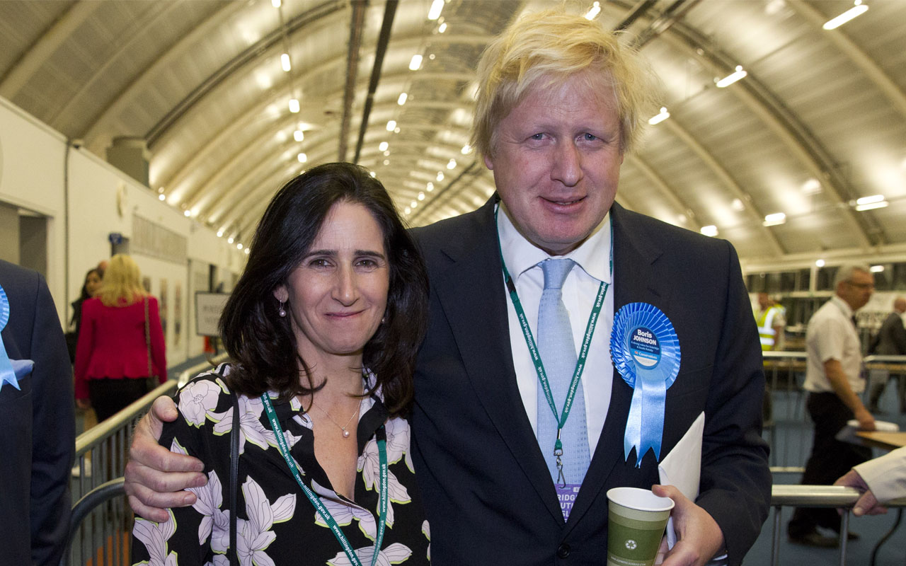 Boris Johnson and Marina Wheeler announce divorce