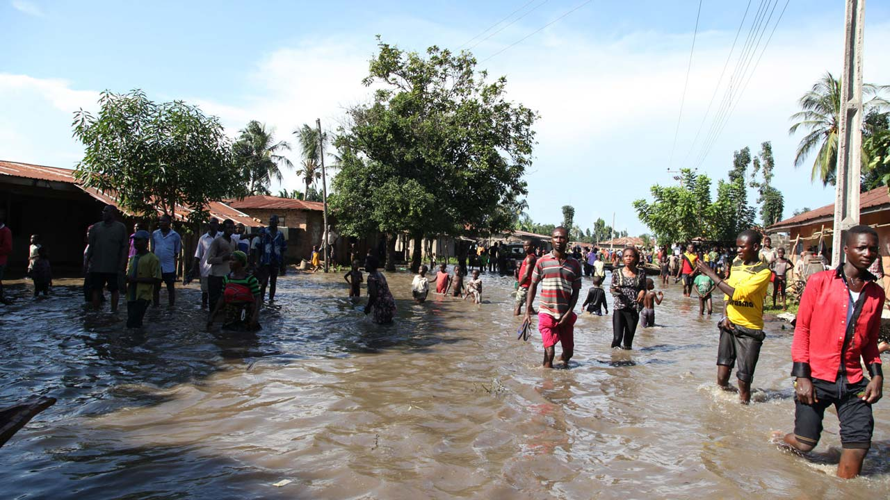 Flood destroys 6,800 IDP shelters in Borno