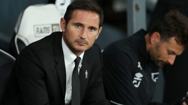 Lampard looks forward to Mourinho League Cup clash