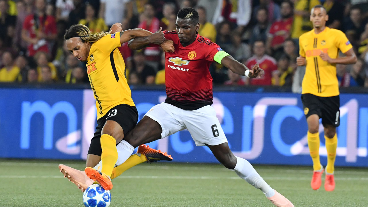How Manchester United could line up against Young Boys