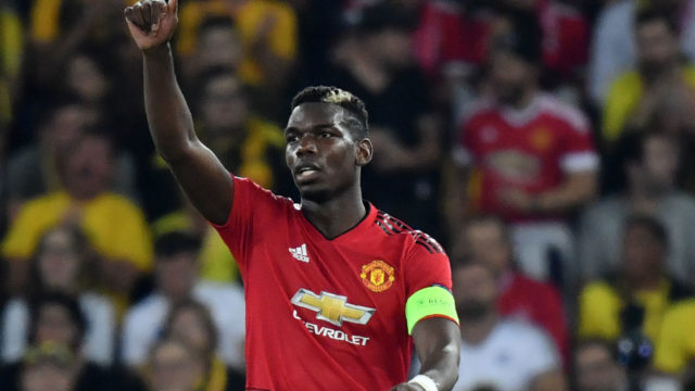 Mourinho upbeat as Pogba points way for Man Utd in Europe