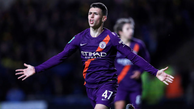 Guardiola reveals 10-year plan for Foden