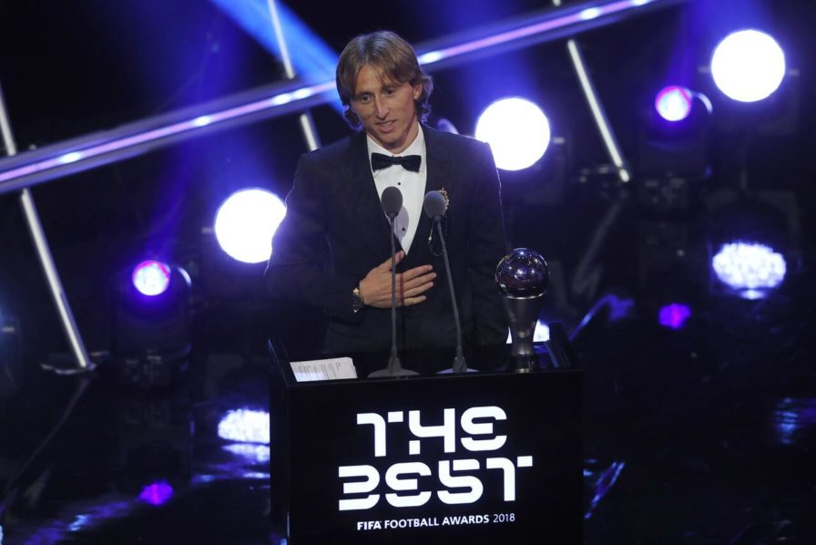 Modric Comments On Beating Messi & CR7 To The Best Award