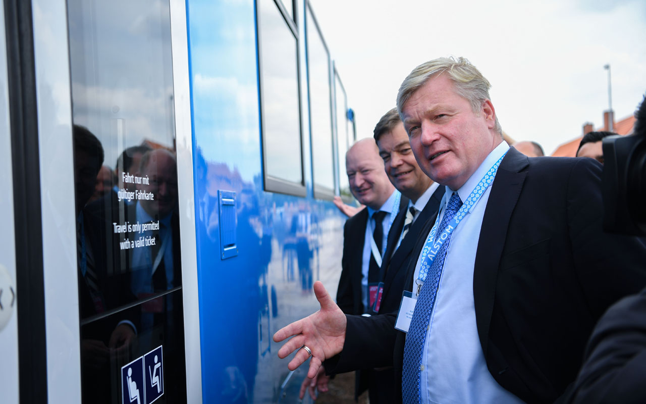Germany rolls out world's first hydrogen train | The