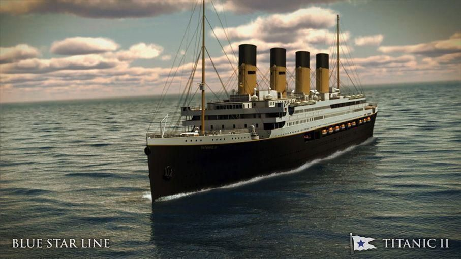 New Titanic To Begin Voyage In 2022