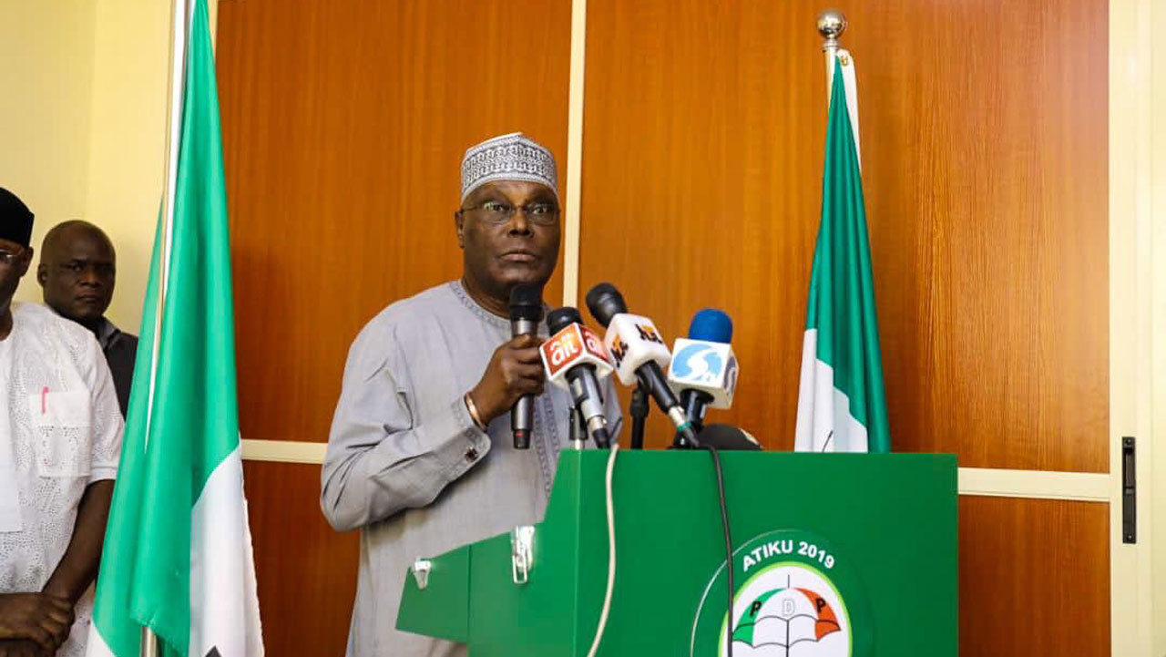 PDP, others kick as 'security agents storm Atiku's…
