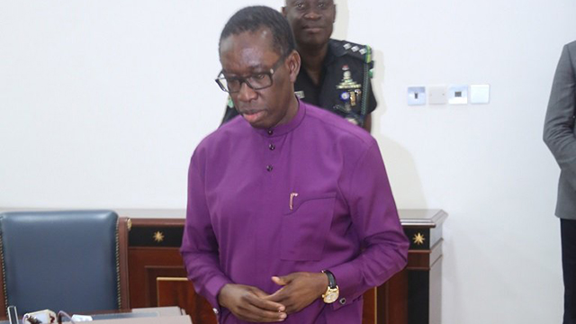 Okowa charges electorate to protect votes