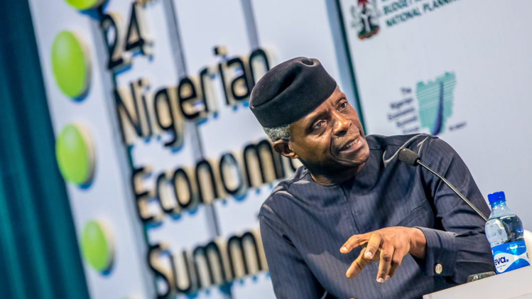 N-Power to accommodate 1 million beneficiaries, says Osinbajo | The