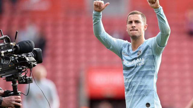 Hazard rules out January move to Real Madrid