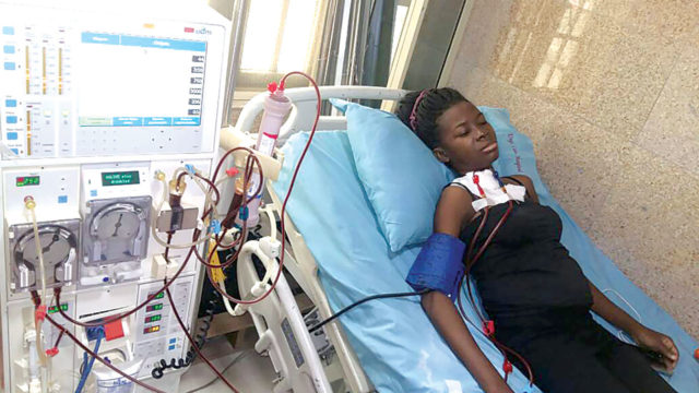 sickle anemia patient battles kidney cancer  needs n8m