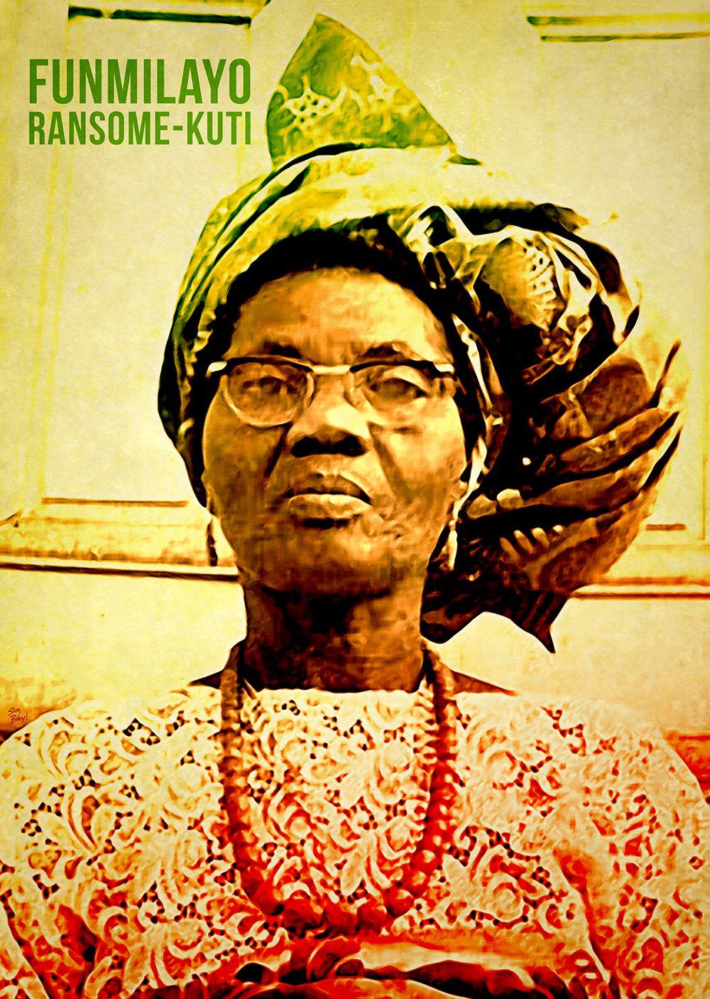 Meet The Three Girls Behind Nigeria's Independence Funmilayo Ransome Kuti art