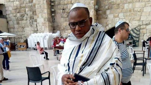 IPOB leader Nnamdi Kanu spotted in Jerusalem