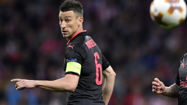 Arsenal's Koscielny says France career 'finished'