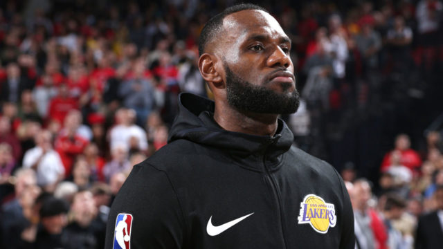 LeBron James delivers 26 but Trail Blazers spoil his Lakers debut
