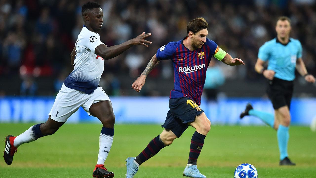 Messi, Rakitic light up Wembley as stylish Barca sink ...