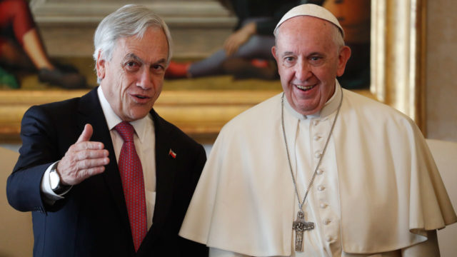Pope defrocks two Chilean bishops for sex abuse of minors