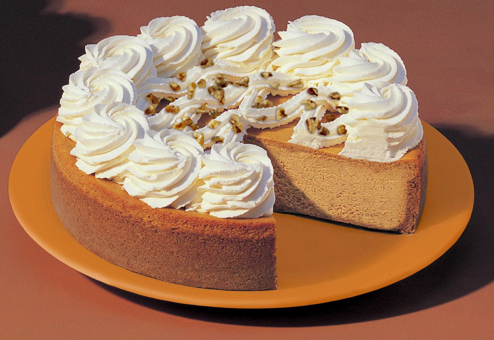 How To Make Pumpkin Cheesecake 5