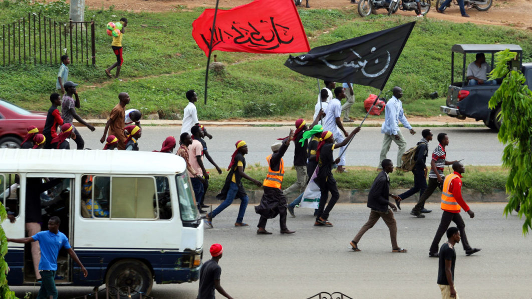 Nigerian Shiites bury dead after clashes with security forces