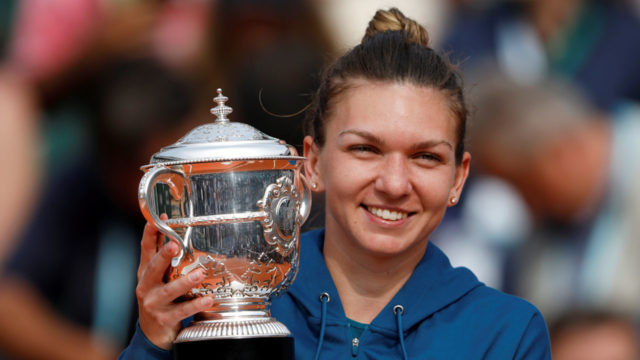 Halep secures second year-end No. 1 ranking