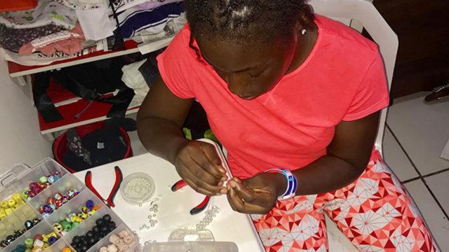 Meet Oluwatimilehin Yinka-Adeniyi, the 11- year-old handmade jeweller