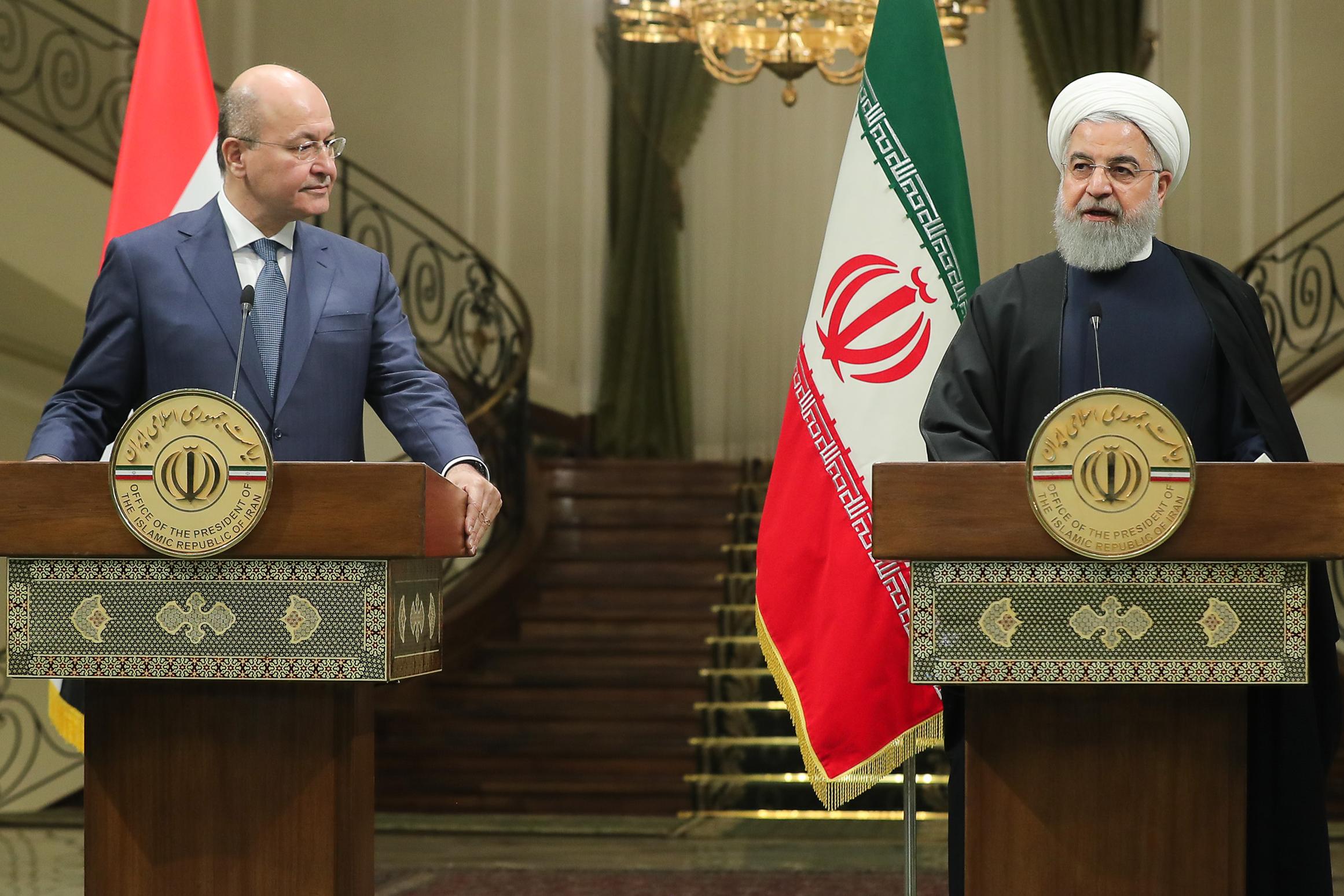 guardian.ng - AFP - Iraq president visits Iran