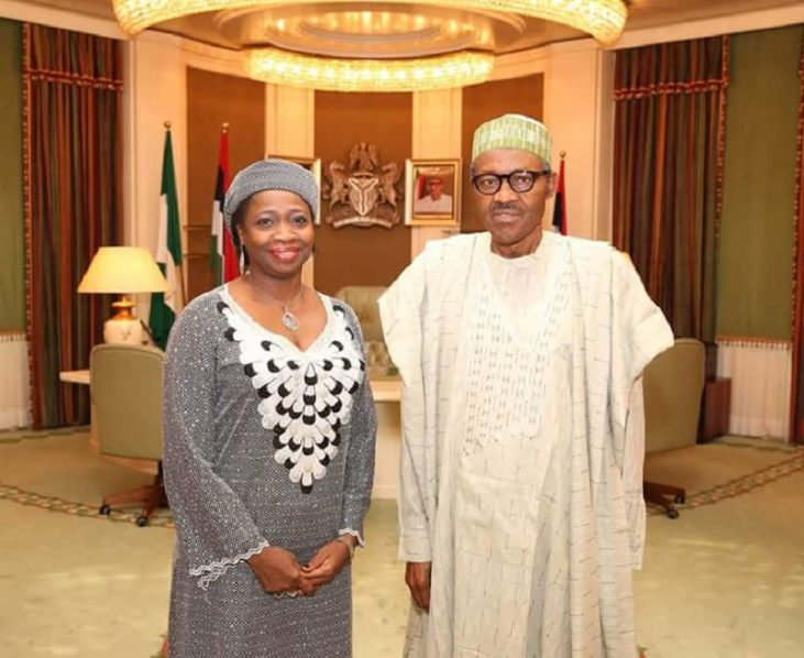 Buhari appoints Abike Dabiri-Erewa as National Diaspora Commission chairman