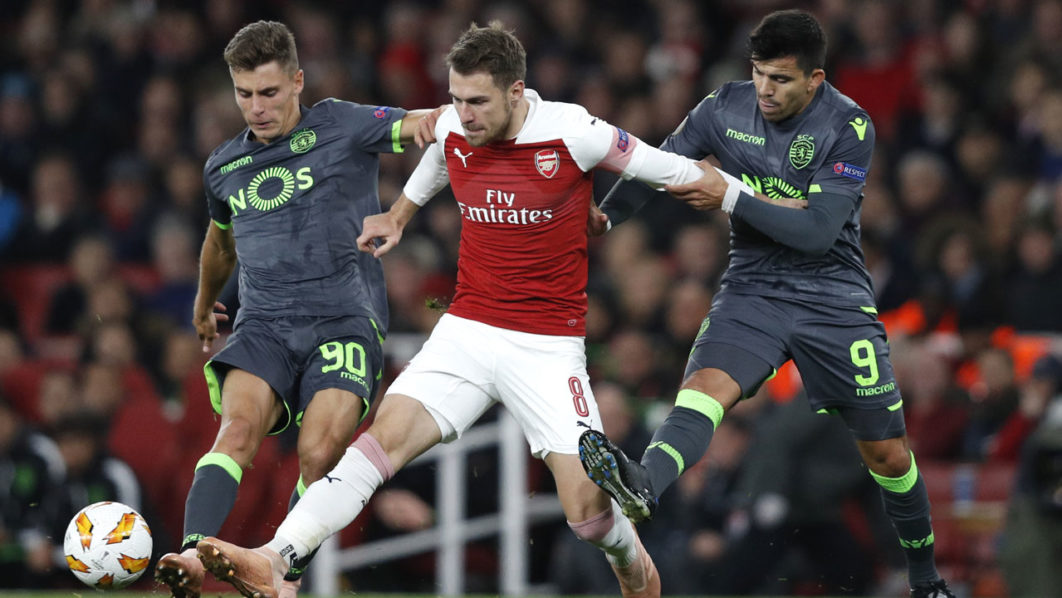 Arsenal 1 1062x598 - Arsenal progress regardless of Sporting stalemate, Chelsea ease by way of