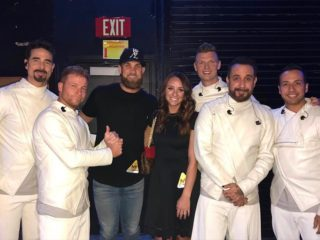 Backstreet boys and the Harpers