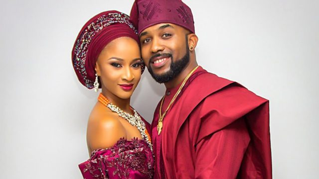 Watch: Adesua Etomi's Adorable Introduction of Banky W