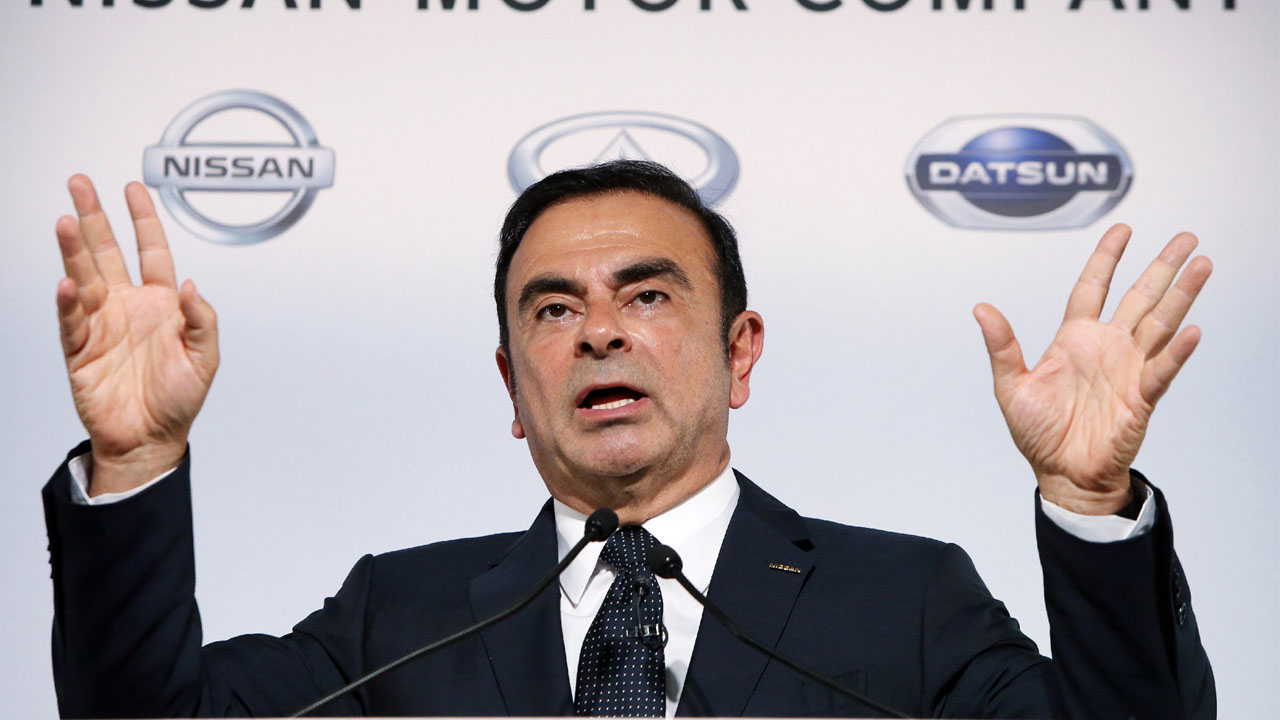 Carlos Ghosn removed as Nissan chairman