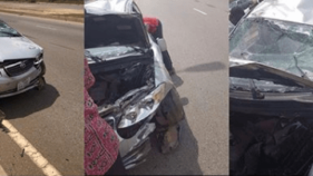 DJ Kaywise and Dj Spanxx involved in motor accident