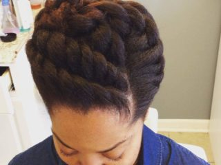 Protective style for hair
