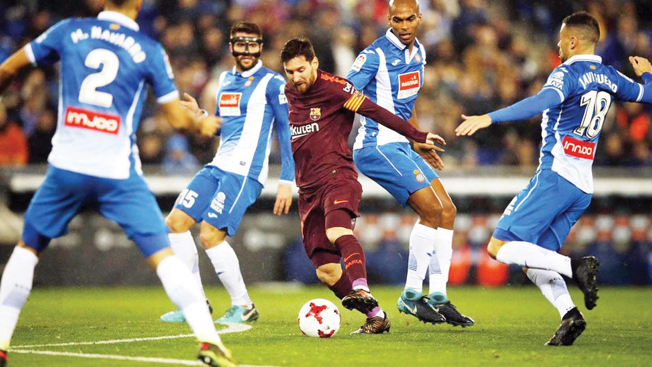 Espanyol, Girona flying in Barcelona FC's shadow