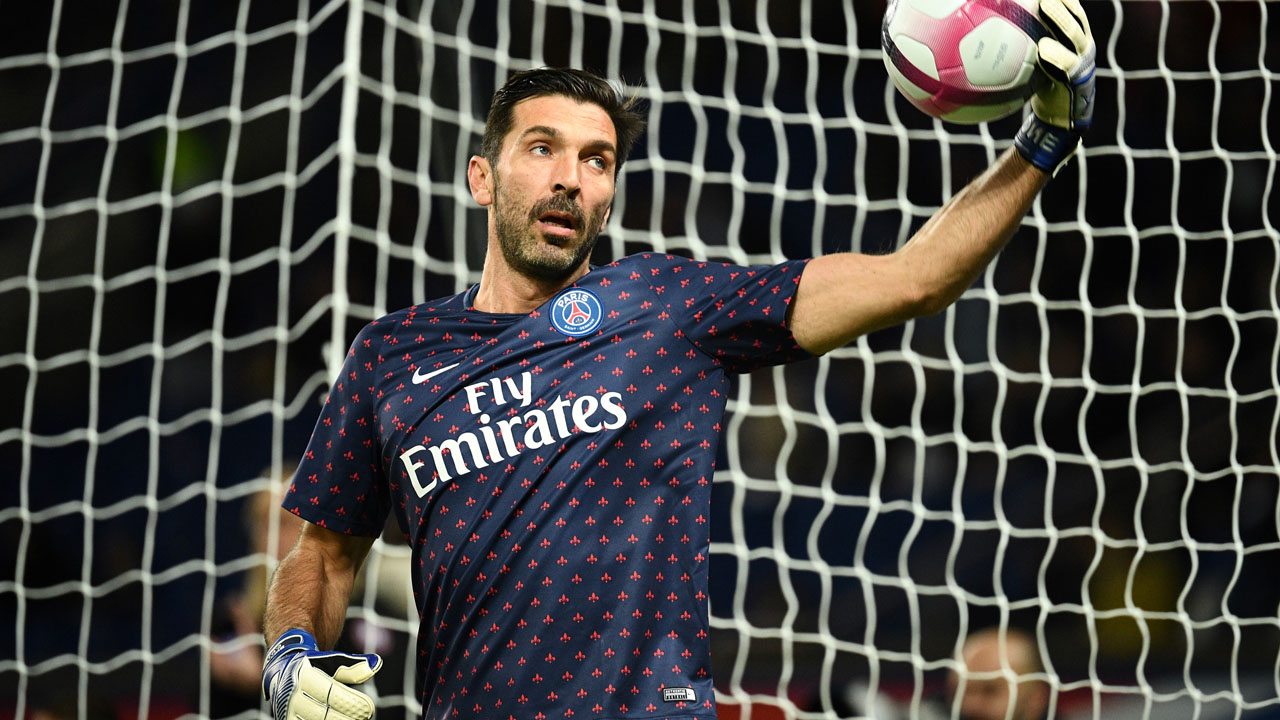 Buffon says Champions League return against Napoli like electric shock