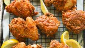 Homemade Crispy Fried Chicken