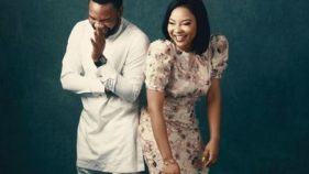 Linda Ejiofor and boo